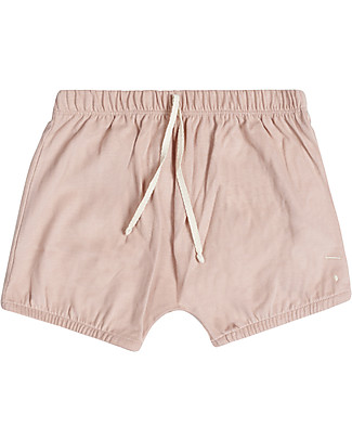 Gray Label Pantalone a Palloncino Bloomer, Vintage Pink - 100% jersey di cotone bio Pantaloni Corti