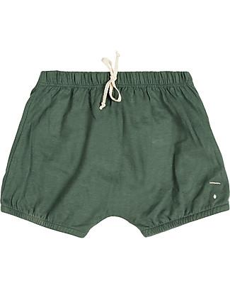 Gray Label Pantalone a Palloncino Copripannolino Bloomer, Salvia - 100% jersey di cotone bio Pantaloni Corti