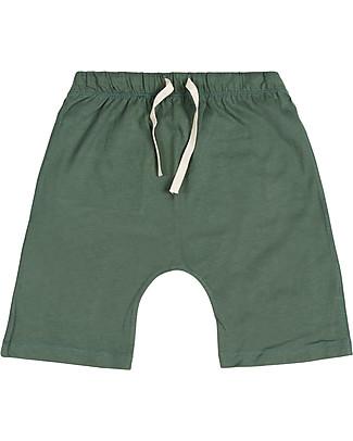 Gray Label Pantaloni Corti Shorts, Salvia - 100% jersey di cotone bio  Pantaloni Corti