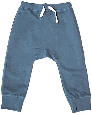 Gray Label Pantaloni Felpati, Denim - 100% Cotone Bio Morbidissimo - 2/4 anni Pantaloni Lunghi