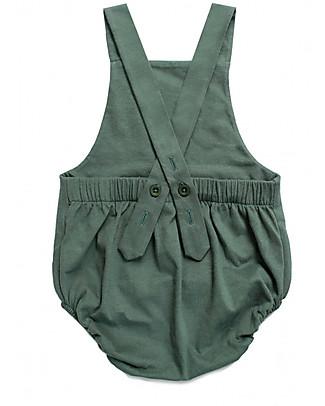 Gray Label Salopette Baby, Salvia - 100% jersey di cotone bio Salopette