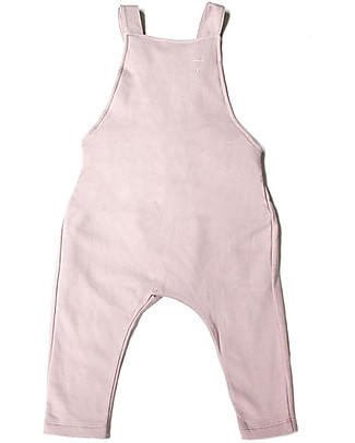 Gray Label Salopette Unisex, Vintage Pink - 100% Cotone Bio Salopette
