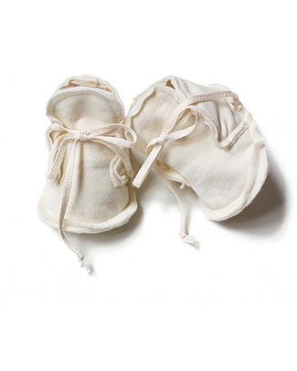 Gray Label Scarpine Baby Avorio - 100% Cotone Bio Morbidissimo Pantofole