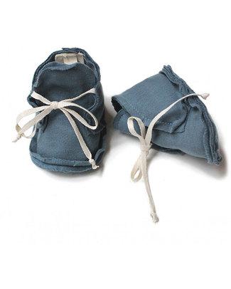 Gray Label Scarpine Baby Blu Denim - 100% Cotone Bio Morbidissimo Pantofole