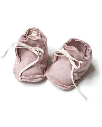 Gray Label Scarpine Baby Rosa - 100% Cotone Bio Morbidissimo null