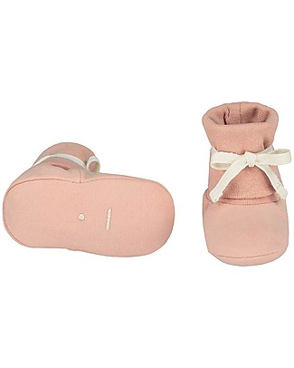 Gray Label Scarpine Baby Rosa - Cotone Bio Morbidissimo Pantofole