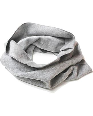 Gray Label Sciarpa Infinity Cotone Bio Morbidissimo, Grigio Melange - Taglia unica 2-8 anni Sciarpe e Mantelle
