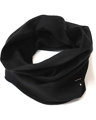 Gray Label Sciarpa Infinity Cotone Bio Morbidissimo, Nearly Black - Taglia unica 2-8 anni Sciarpe e Mantelle