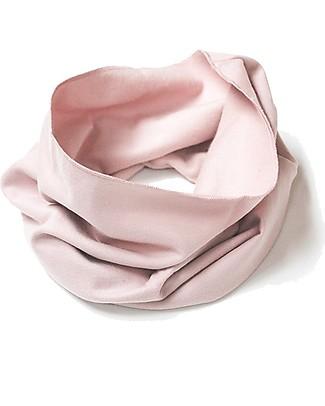 Gray Label Sciarpa Infinity, Rosa Antico - 100% felpa di cotone bio italiano  Sciarpe e Mantelle