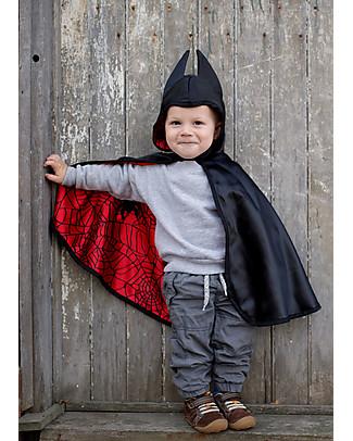 Great Pretenders Baby Mantello per Costume di Carnevale Reversibile, Ragno/Pipistrello - 2 costumi in 1! null