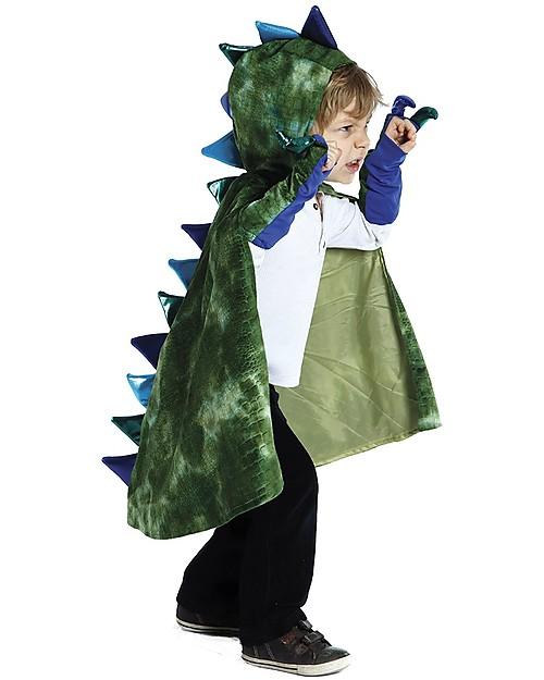 Great Pretenders Costume da Drago, Verde - Include mantello e artigli! Travestimenti