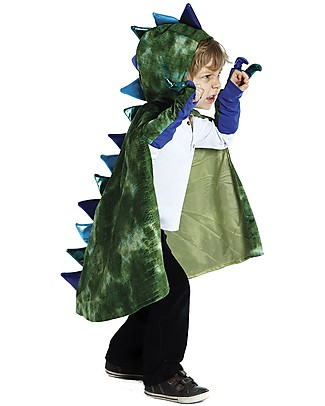 Great Pretenders Costume da Drago, Verde - Include mantello e artigli! Travestimenti