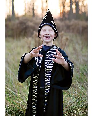 Great Pretenders Costume da Mago Deluxe, Nero - Include mantello e cappello! null