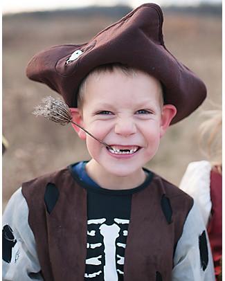Great Pretenders Costume da Pirata - Pantaloni, camicia e cappello inclusi! Travestimenti