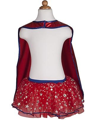 Great Pretenders Costume Supereroe da Bambina - Comprende tutu, mantello e maschera! Travestimenti
