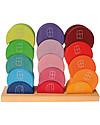 Grimm's Set Costruzioni in Legno, Casa della Luna - 16 pezzi - Originale, divertente, educativo! Construzioni In Legno