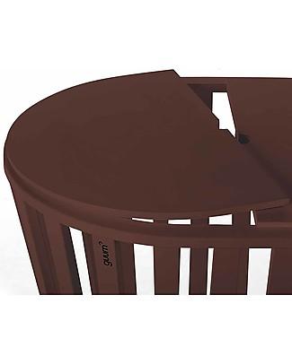 Guum Barcelona Coverguum, Cioccolato – Coperchio per covertire la culla Minigumm in tavolino o portagiochi Tavoli