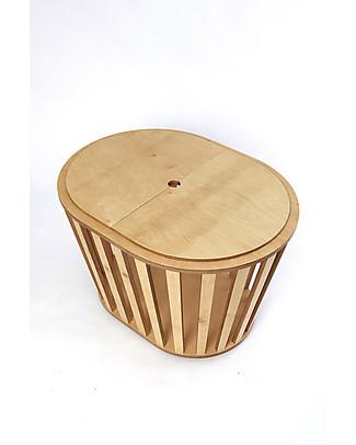 Guum Barcelona Coverguum, Naturale – Coperchio per covertire la culla Minigumm in tavolino o portagiochi Culle e Ceste