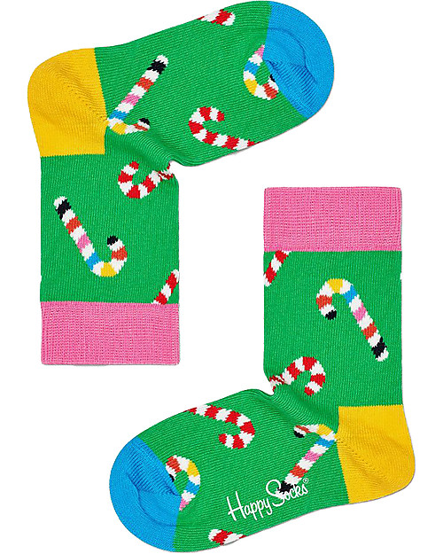 Happy Socks Calze, Unisex-Bimbi Pacco da 2