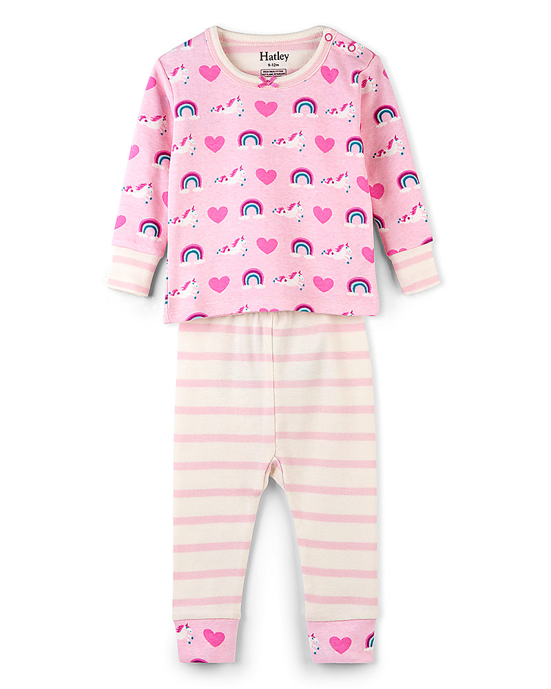 Colore Pigiama Lungo in Cotone The Pyjama Factory Nero