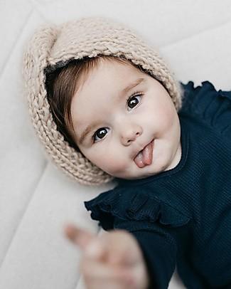 Hats Over Heels Cappello a Turbante, Caramello (0-6, 6-12 e 12-24 mesi) – 100% Lana Merino Cappelli