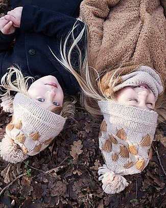 Hats Over Heels Cappello Invernale Spot Giraffa, Caramello (2-5 e 5-8 anni) - 100% Lana Merino Cappelli
