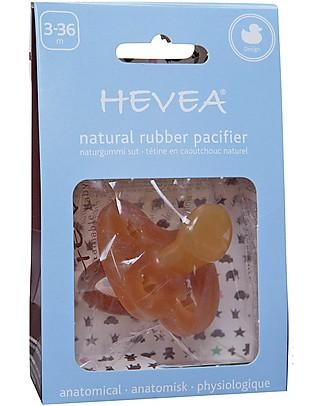 Hevea Ciuccio Papera 3-36 Mesi - Ortodontico Naturale  Ciucci
