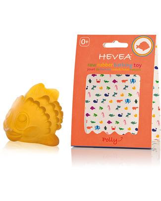 Hevea Pesciolino Bagnetto Polly - Gomma Naturale: Sicura & Sostenibile Giochi Bagno