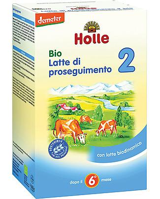 Holle Latte di Proseguimento in Polvere Bio 2 - Da 6 a 10 mesi circa Omogeneizzati