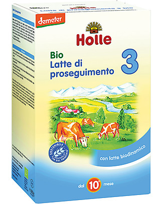 Holle Latte di Proseguimento in Polvere Bio 3 - Da 10 a 12 mesi circa Latte In Polvere Bio