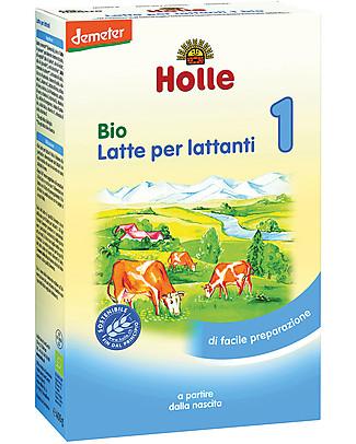 Holle Latte in Polvere Bio 1 - Dalla nascita a 6 mesi Latte In Polvere Bio