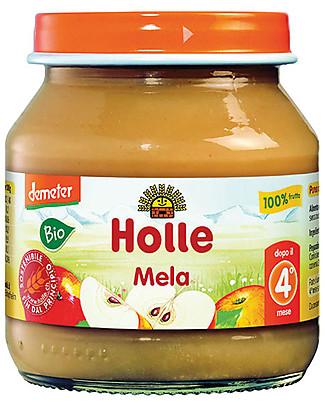 Holle Purea di Mela, 125 gr – 100% frutta, dal 4° mese null