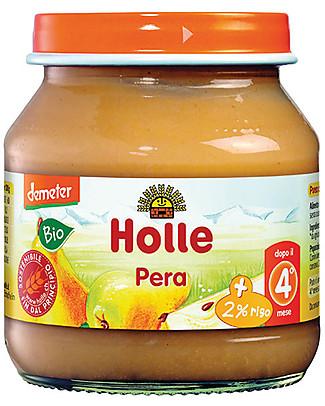 Holle Purea di Pera, 125 gr - Dal 4° mese Omogeneizzati