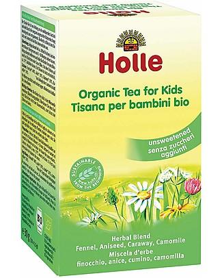 Holle Tisana Bio per bamini, 30 gr – Senza zuccheri aggiunti Tisane