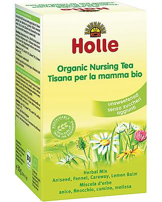 Holle Tisana Bio per la Mamma, 20 bustine – Ideale durante l'allattamento Tisane