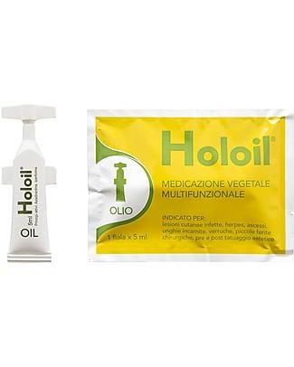 Holoil Fiala Olio 5 ml Richiudibile! - Medicazione Vegetale Per Tutta La Famiglia! Creme e Olii