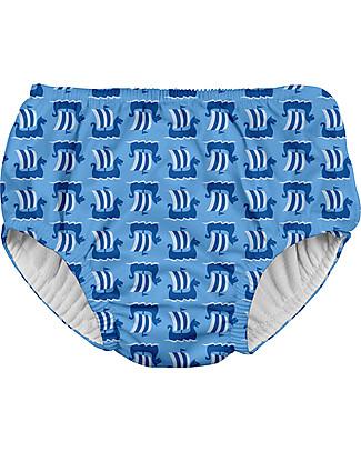I Play Costume Contenitivo Bimbo, Celeste – Lavabile, perfetto per il mare! Costumi Due Pezzi