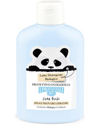 I Provenzali Latte Detergente Biologico - Puro Burro di Karité Bio e Acqua di Malva Bagno Doccia Shampoo