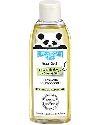 I Provenzali Olio da Massaggio Baby Biologico - 150 ml Creme e Olii