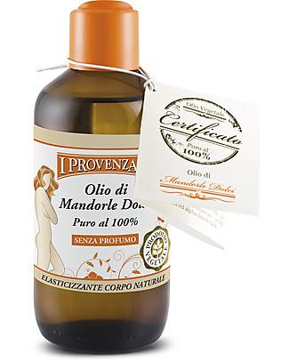 I Provenzali Olio di Mandorle Dolci, 250 ml – Olio puro 100% Creme e Olii