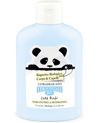 I Provenzali Organic Baby Bath for Skin & Hair - Ultra sensitive and No SLS, SLES, Parabens and OGM Shampoos And Baby Bath Wash