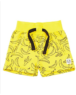 Indikidual Tamago, Banana Shorts, Yellow - 100% organic cotton  Shorts