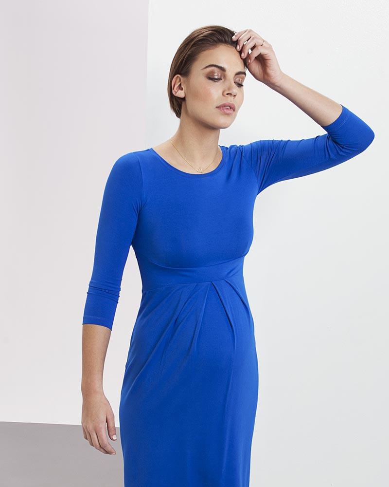 5d1b4f1e5020 Isabella Oliver Abito Premaman Elegante Ivybridge - Blu Cobalto Vestiti