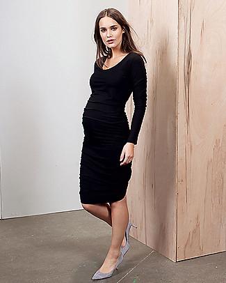 Isabella Oliver Abito Premaman Elegante - Nero Caviale  null