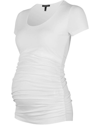 Isabella Oliver Top Premaman - Bianco T-Shirt e Canotte