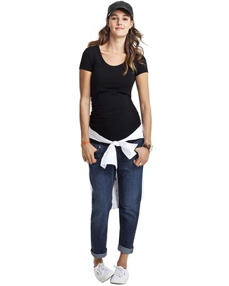 Isabella Oliver Top Premaman - Nero T-Shirt e Canotte