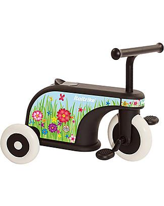 Italtrike La Cosa 2, Triciclo per Uso Esterno, Flower Cavalcabili