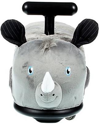 Italtrike La Cosa Soft, Triciclo per Uso Interno, Rhino il Rinoceronte Cavalcabili