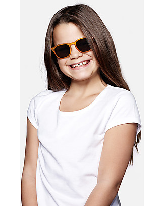 Izipizi Sun Junior #C, Giallo - Taglia unica da 4 a 10 anni! Occhiali