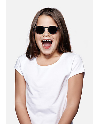 Izipizi Sun Junior #D, Tartaruga - Taglia unica da 4 a 10 anni! Occhiali